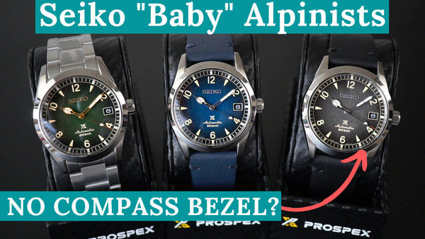 Seiko Baby Alpinist 38mm SPB155 SPB157 SPB159 First Impressions & Comparison
