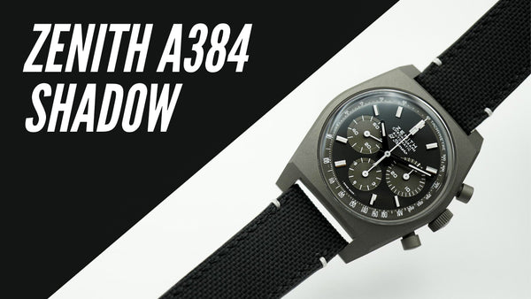 Zenith A384 Revival Shadow First Impressions Video
