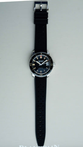Blancpain Fifty Fathoms Barakuda Limited Edition 5008B 1130 B52A Carat & Co. Authorized Retailer