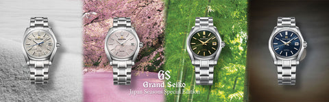 Grand Seiko Four Seasons USA Exclusive SBGA415 SBGH271 SBGH273 SBGA413 Spring Drive Titanium Hi-Beat Stainless Steel Carat & Co. Authorized Retailer