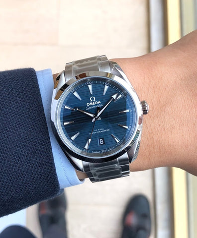 Omega Seamaster Aqua Terra 220.10.38.20.03.001 $5,700 Carat & Co. Authorized Retailer