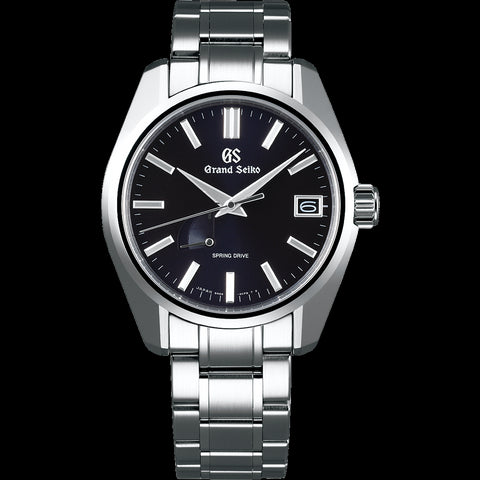 Grand Seiko SBGA375 Spring Drive Midnight Dial 44GS Carat & Co. Authorized Retailer