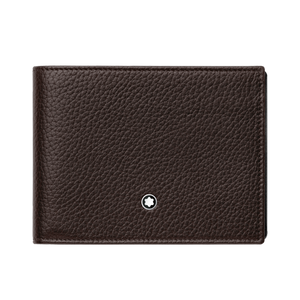 Montblanc Meisterstück Soft grain brown 6-card holder wallet