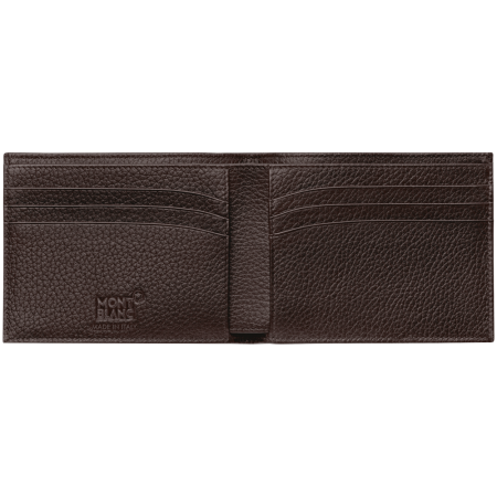 Meisterstück Soft grain brown 6-card holder wallet