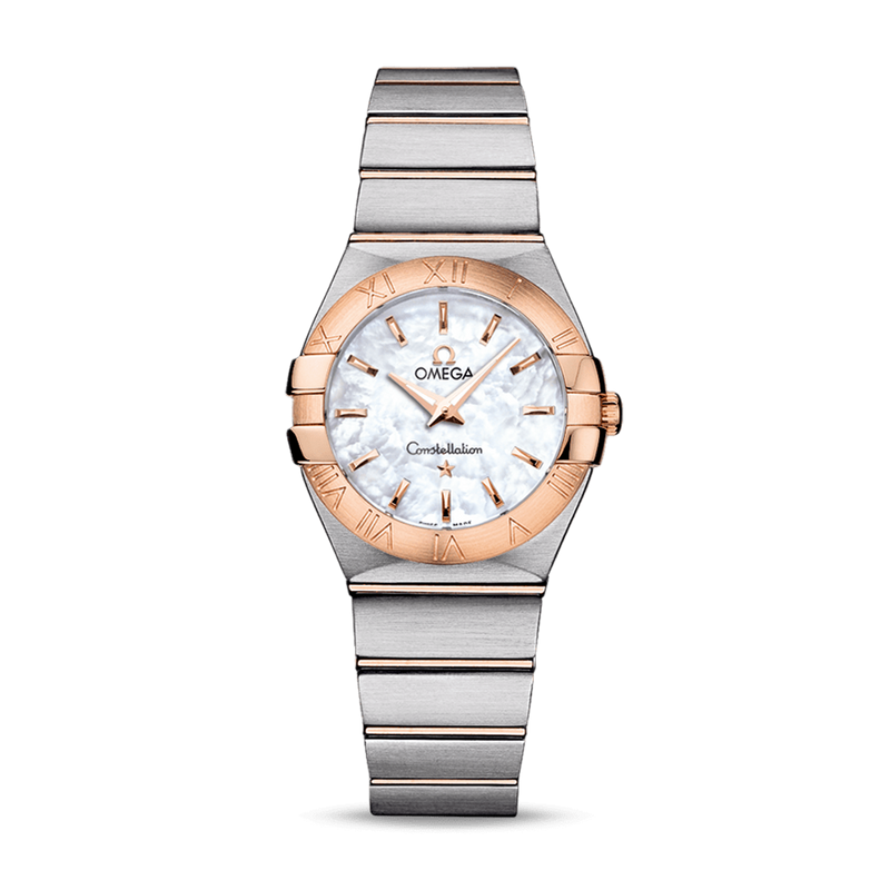 Omega Constellation Quartz Mother of Pearl 27 mm