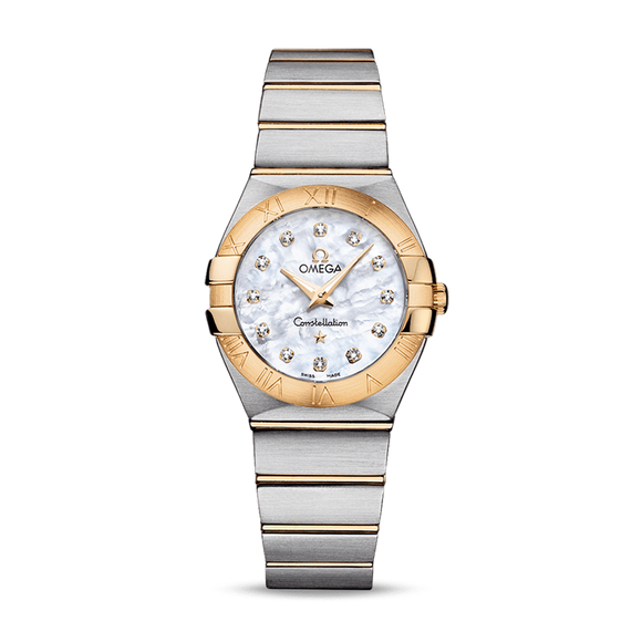 Omega Constellation Quartz Diamonds 27 mm
