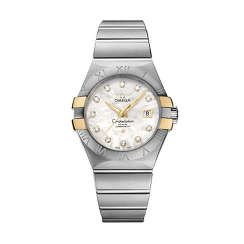 Omega Constellation Co-Axial Mother of Pearl 31 mm
