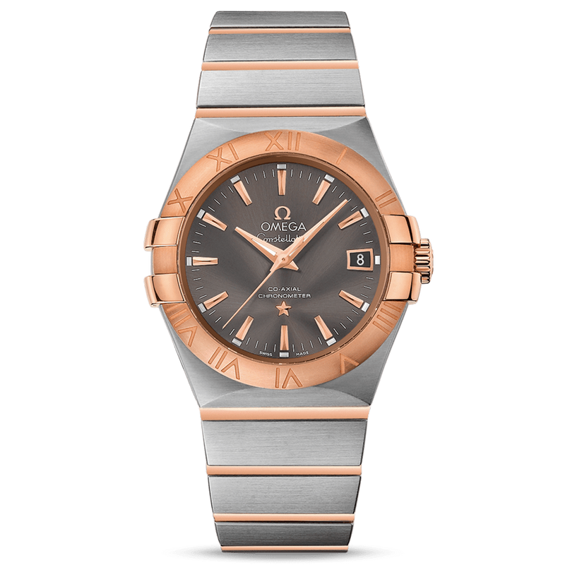 Omega Constellation Co-Axial Date 35 mm