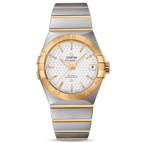 Omega Constellation Co-Axial Date 38 mm