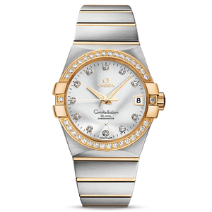 Constellation Co-Axial Date Diamonds 38 mm