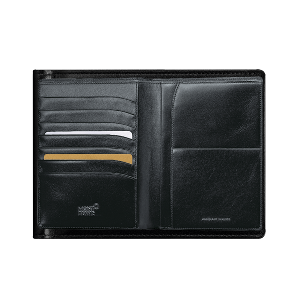 Meisterstück Passport Holder 7-Credit Card Black Leather
