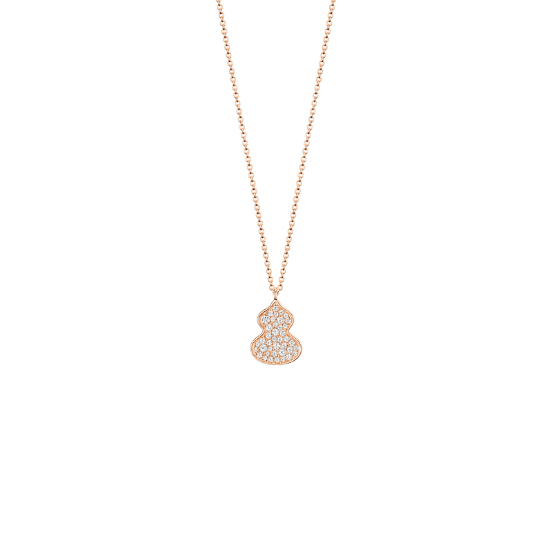 Petite Wulu Necklace Diamonds