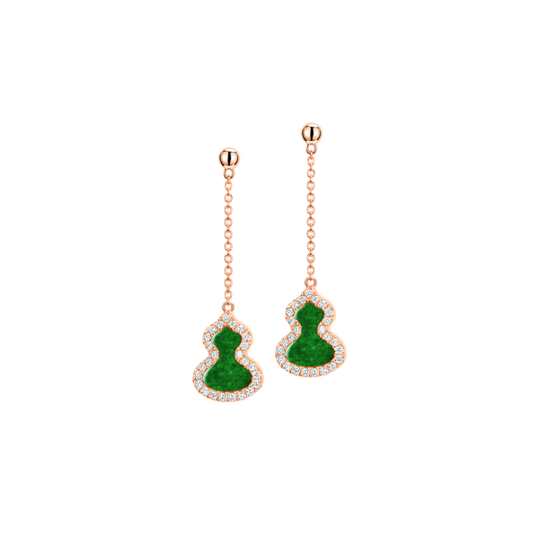 Petite Wulu Earrings Jade