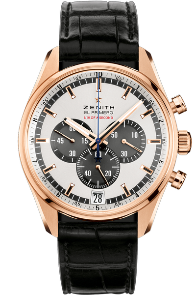 El Primero Striking 10th Chronograph Gent's Gold Watch