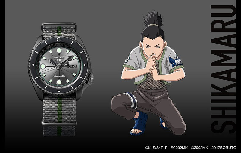 Seiko 5 SHIKAMARU NARA Limited Edition SRPF75K1 Watch