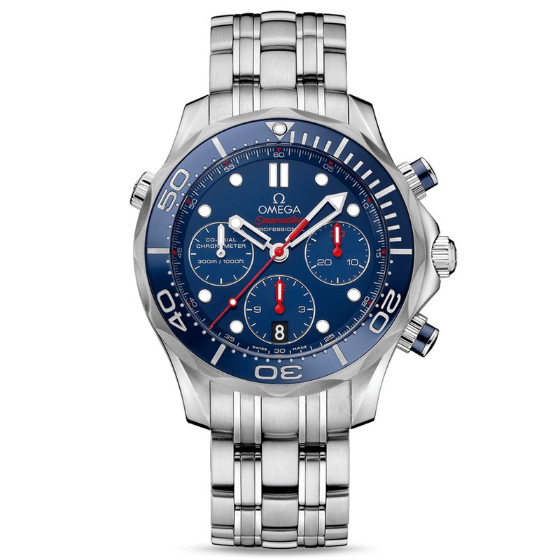 Omega Seamaster Diver 300M Chronograph 44mm