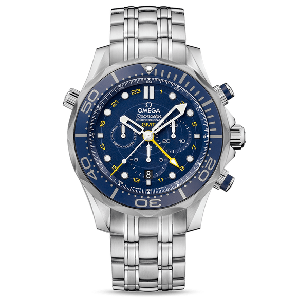 Omega Seamaster Diver 300M Chronograph GMT 44mm