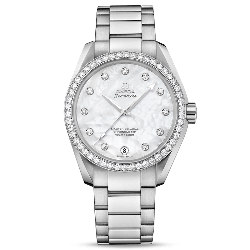 Omega Seamaster Aqua Terra Ladies Diamonds 38.5mm