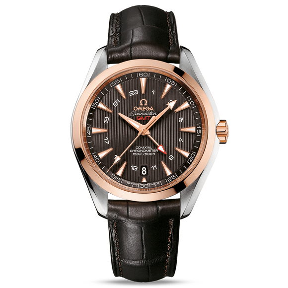 Omega Seamaster Aqua Terra 150M Co-Axial GMT 43 mm