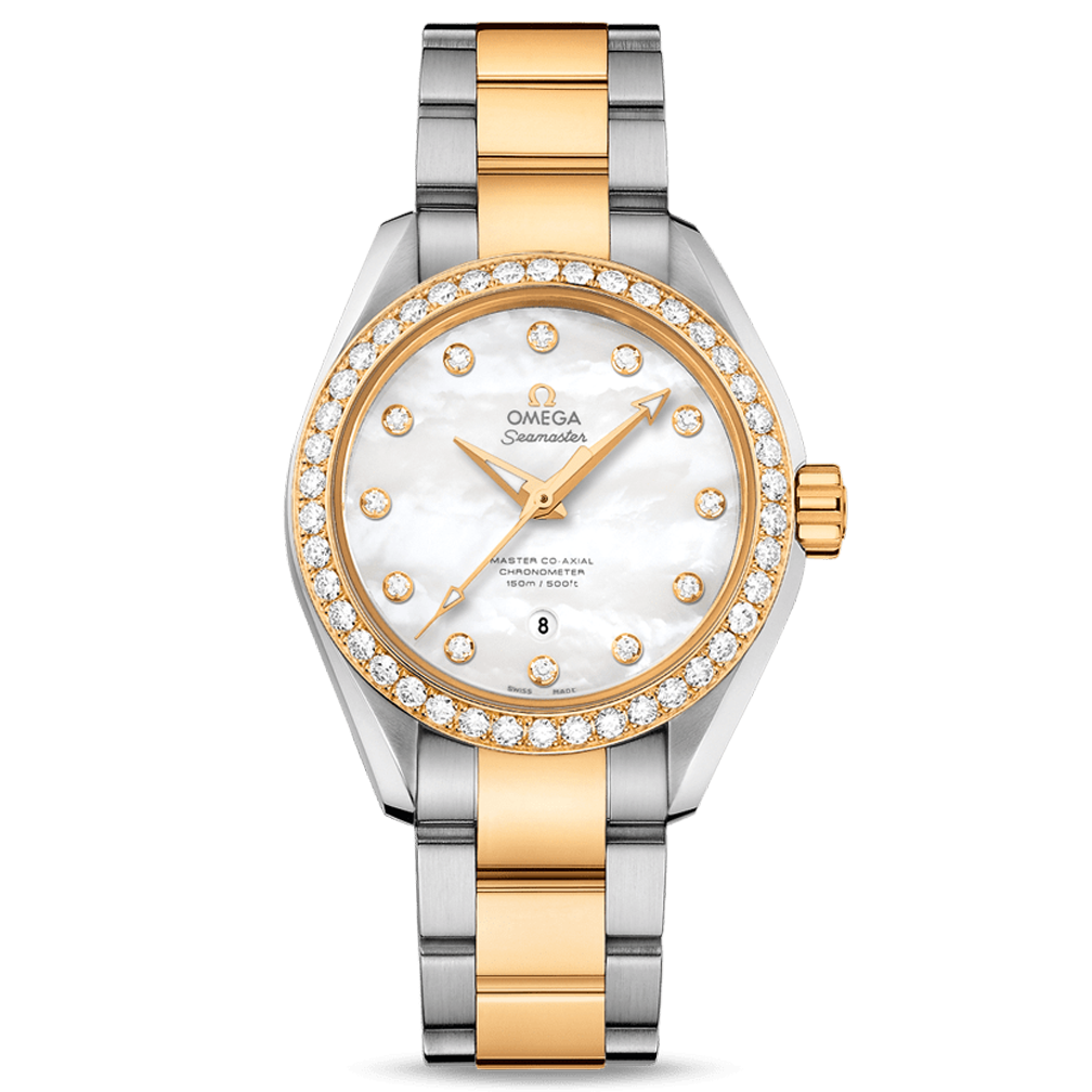 Seamaster Aqua Terra Ladies Diamonds 34mm