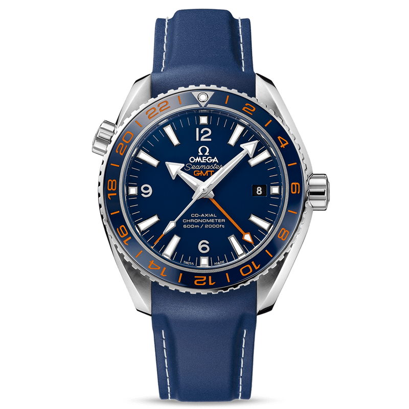 "Omega Seamaster ""Good Planet"" Planet Ocean 600M GMT 43.5mm"