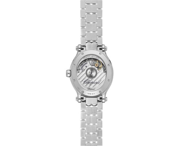 Happy Sport Oval Automatic Stainless Steel