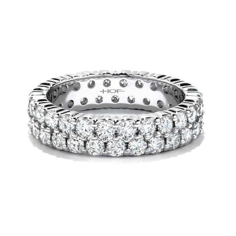 Double-Row Eternity Band