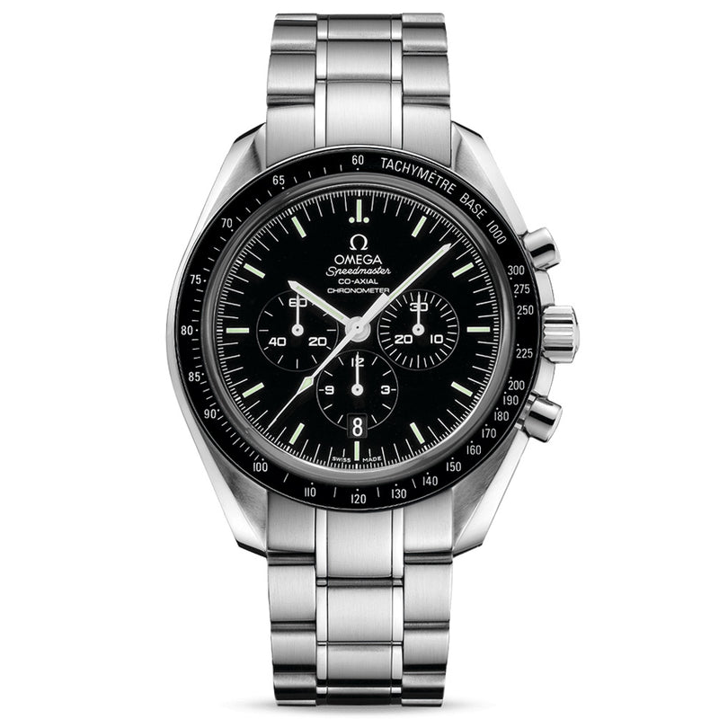 Omega Speedmaster Moonwatch Enamel Dial Co-Axial Chronograph 44mm