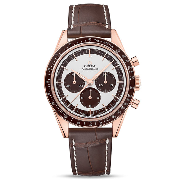 Omega Speedmaster First Omega in Space Sedna™ gold Moonwatch Chronograph 39mm