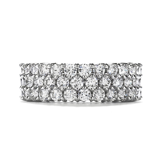 Triple-Row Eternity Band