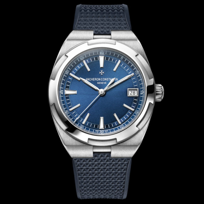 Overseas Blue DIal Self-Winding  with Interchangeable Straps