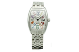 Franck Muller Cintree Curvex Color Dreams Stainless Steel