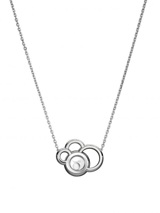 Happy Dreams White Gold Necklace