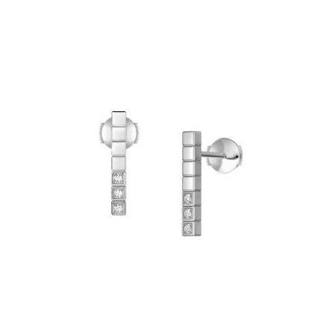 Ice Cube Pure Earrings