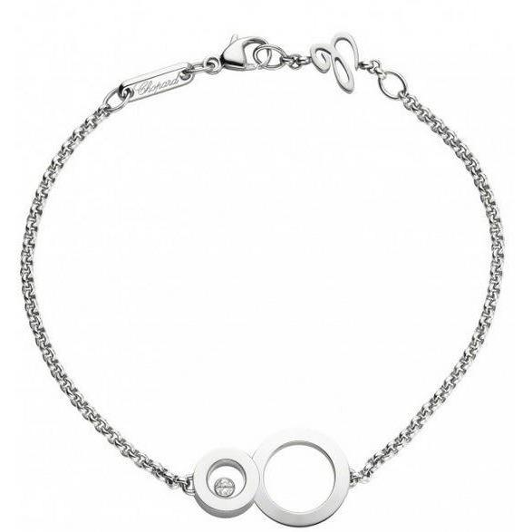Happy 8 White Gold Bracelet