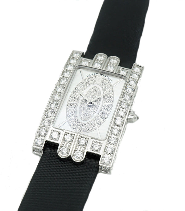 Harry Winston Avenue C Quartz Diamonds AVEQHM26WW183