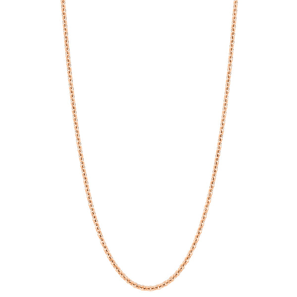 Qeelin 24in Chain 18k Rose Gold