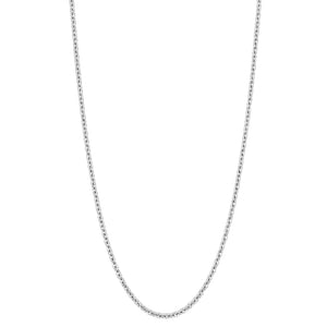 "Qeelin 24"" necklace in 18K white gold"