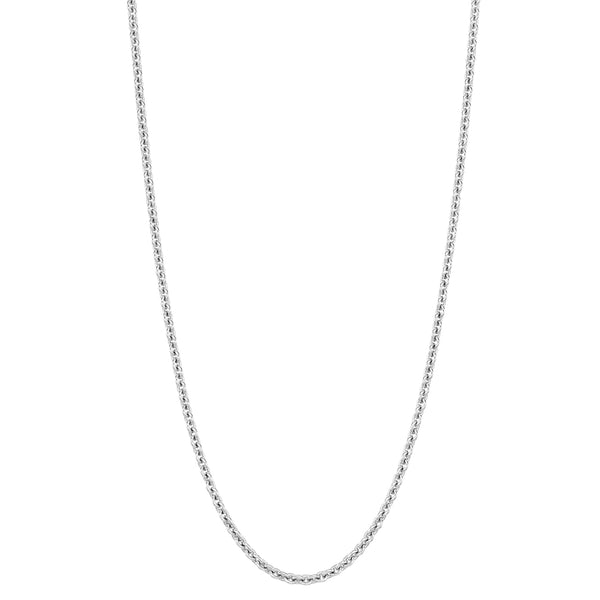 Qeelin 24in Chain 18k White Gold