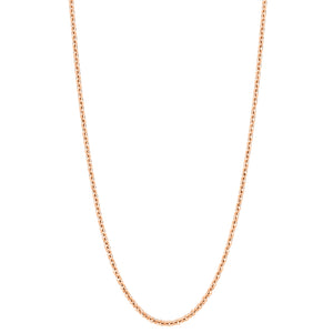 "Qeelin 32"" necklace in 18K rose gold"