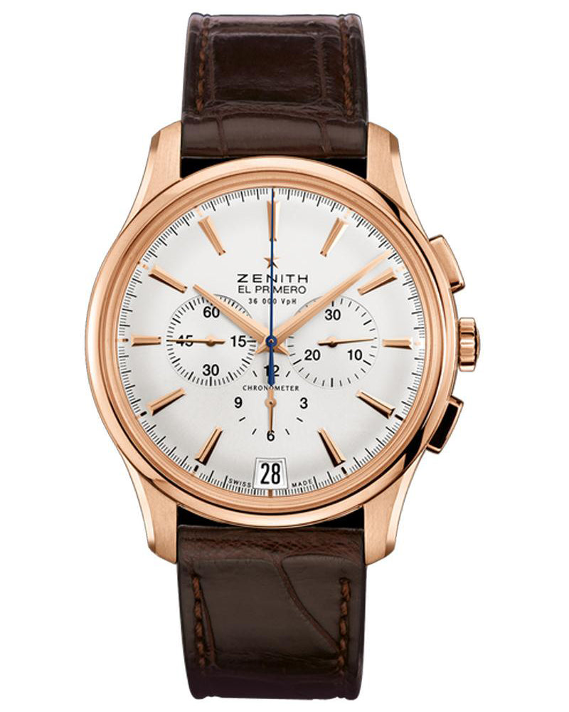 Captain Chronograph Gent's Gold Watch