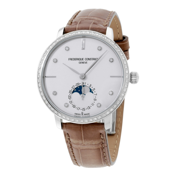 Ladies Slimline Manufacture Moonphase