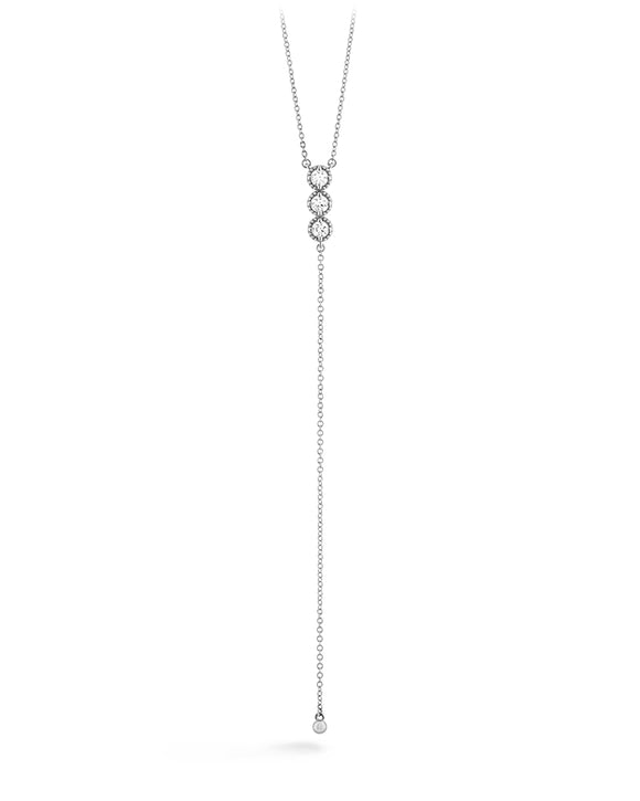 Hearts on Fire Liliana Milgrain Diamond Lariat Necklace