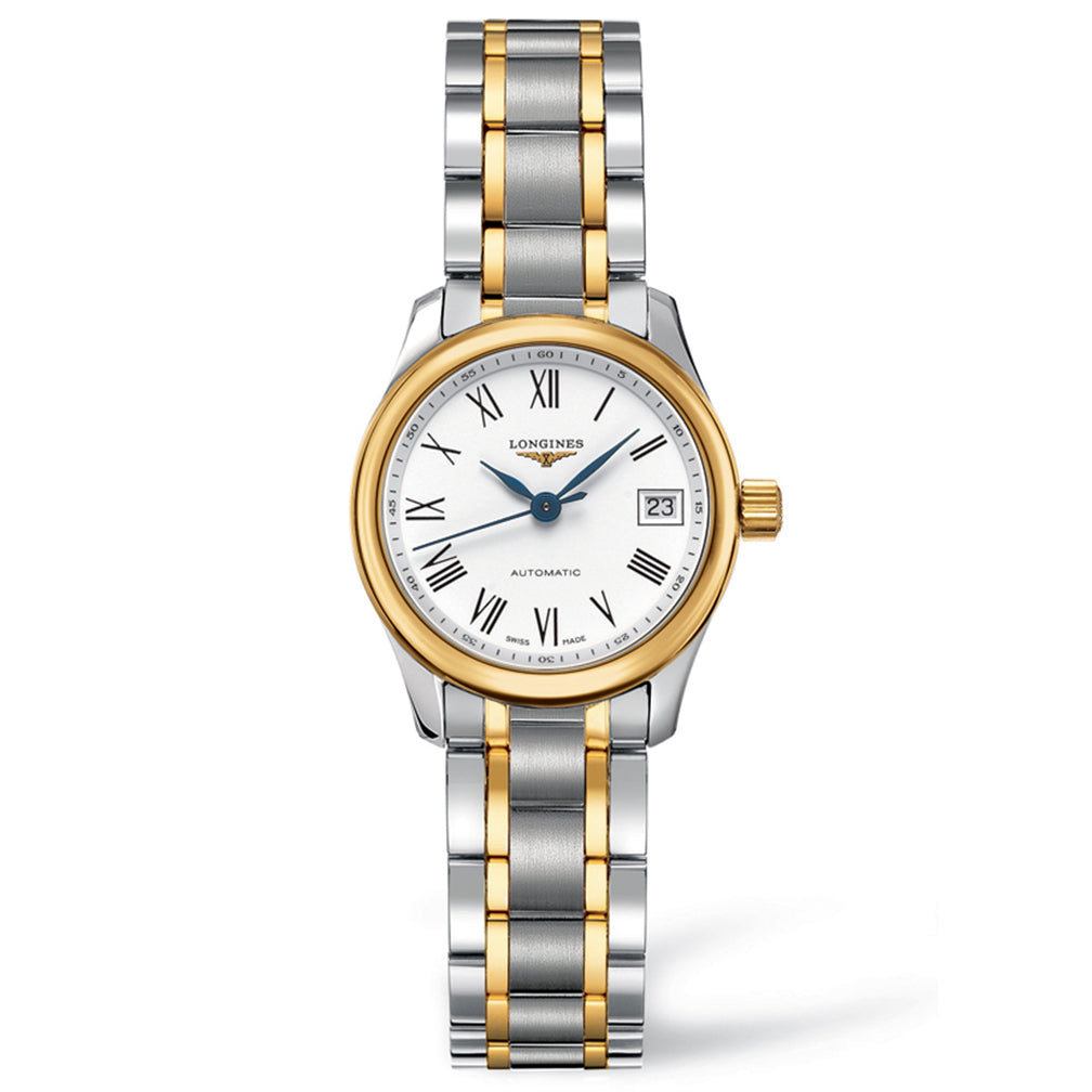 The Longines Master Collection 25mm Stainless Steel/Gold 18K