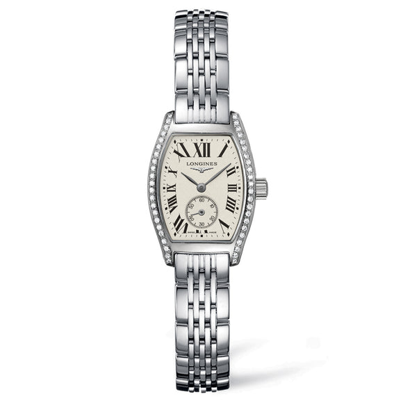 Longines Evidenza 19mm Stainless Steel with Diamonds