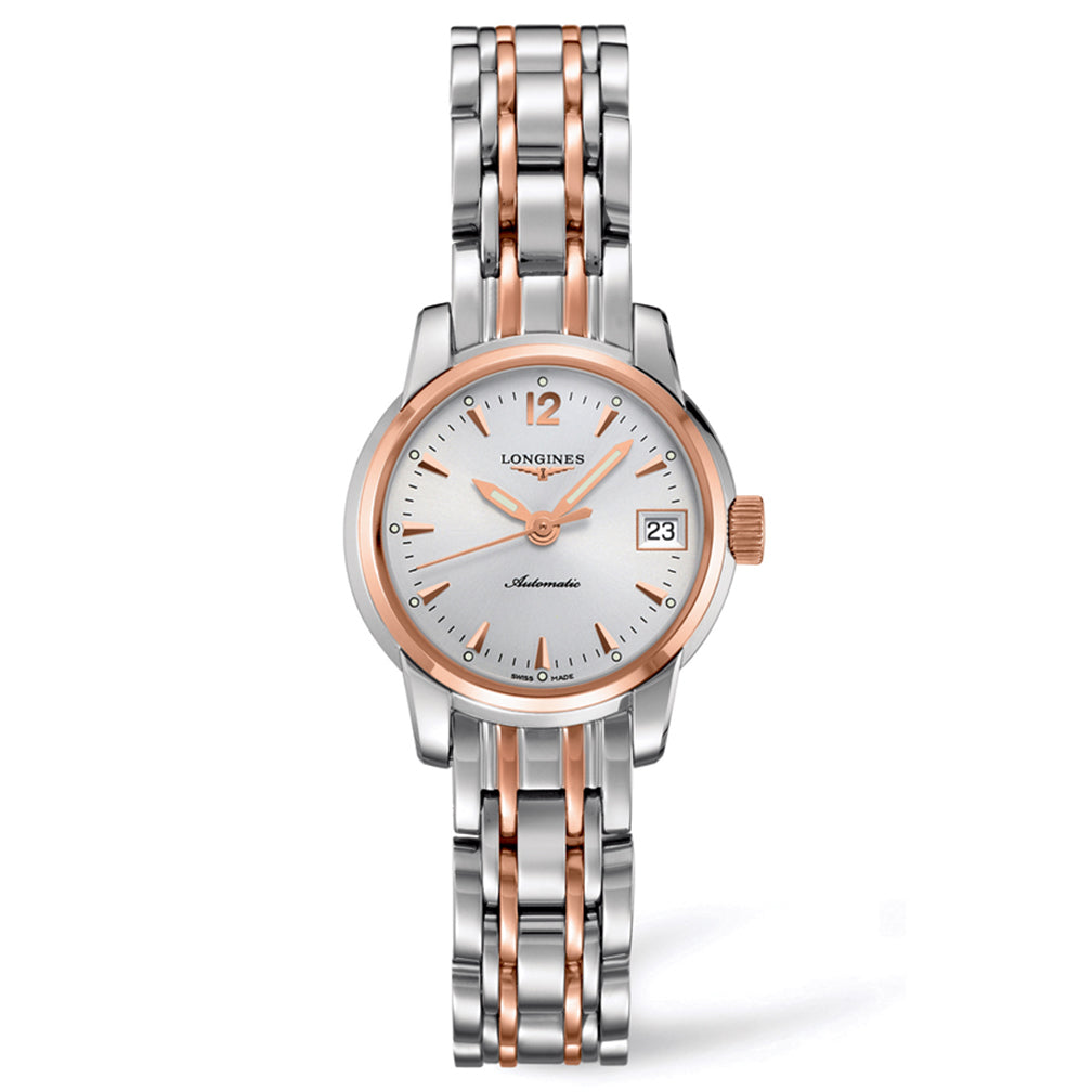 The Longines Saint-Imier Collection 26mm Stainless Steel/Gold Cap 200