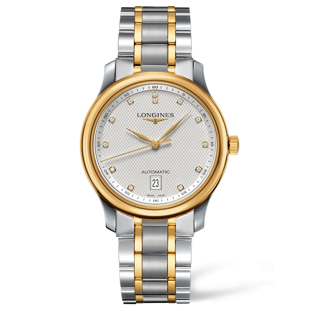 The Longines Master Collection 38mm Stainless Steel/Gold Cap 200 with Diamonds