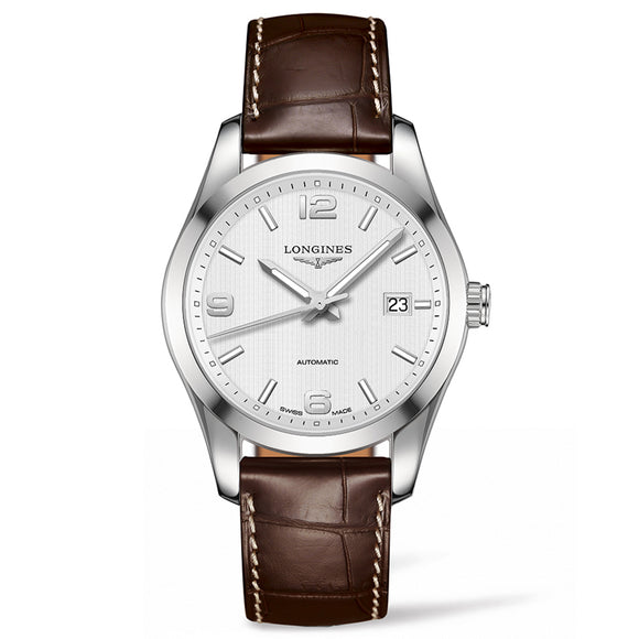 Longines Conquest Classic 40mm Stainless Steel