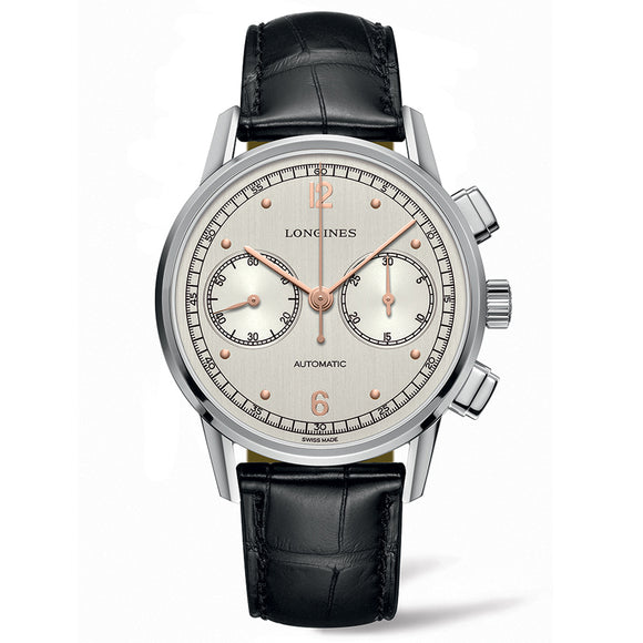 The Longines Heritage Chronograph 1940 41mm Stainless Steel