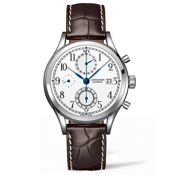 The Longines Heritage Classic Chrono 41mm Stainless Steel